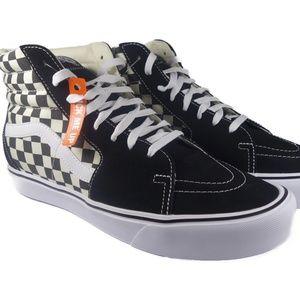 VANS SK8-Hi Lite Checkerboard (Black / White)